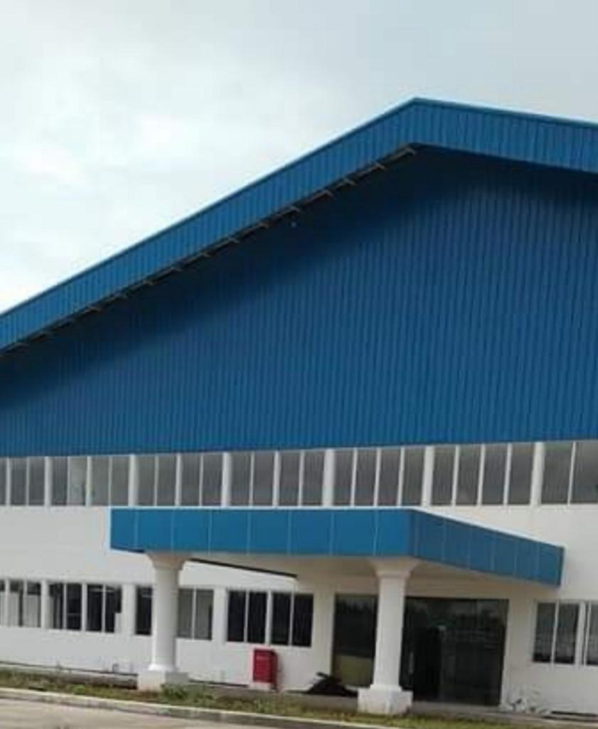 Pabrik PT Seijin Fashion Indonesia (SFI) di Margorejo, Pati